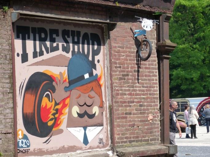 Tire Shop et Bmx - Blog Voyage Trace Ta Route