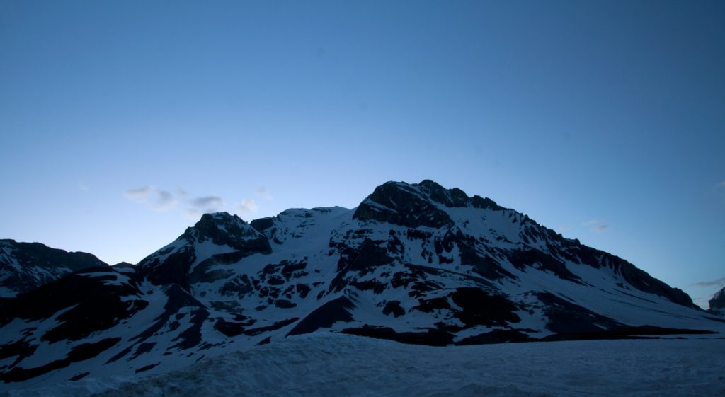 La Grande Casse, à l'aube (Parc National de la Vanoise)