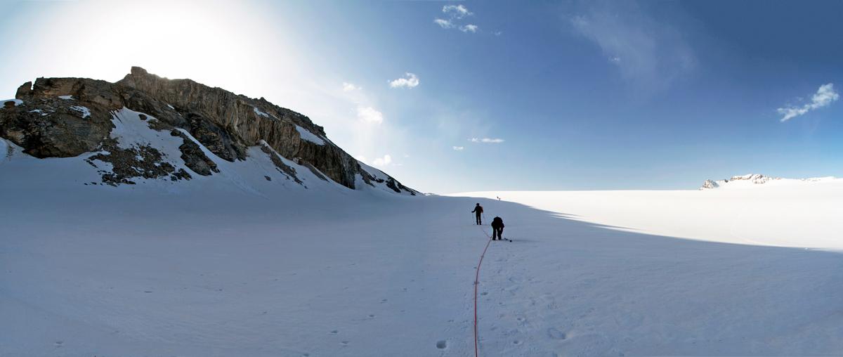 Le Glacier de la Roche Ferran et la Pointe de la Réchasse (Parc National de la Vanoise)