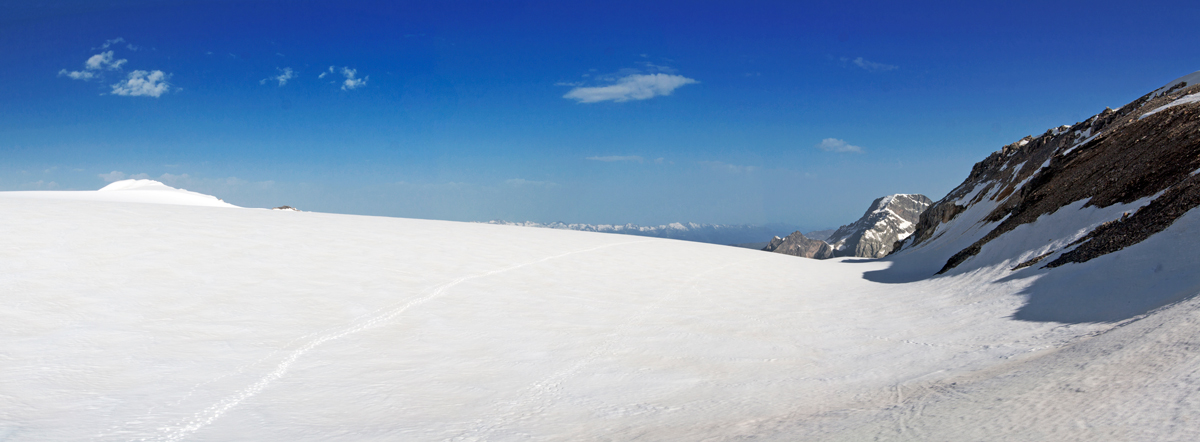 Traversée du Glacier de la Roche Ferran (Parc National de la Vanoise)