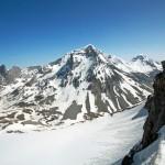 La Grande Casse depuis l'arête de la Pointe de la Réchasse (Parc National de la Vanoise)