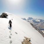 Ascension en alpinisme de la Pointe de la Réchasse (Parc National de la Vanoise)