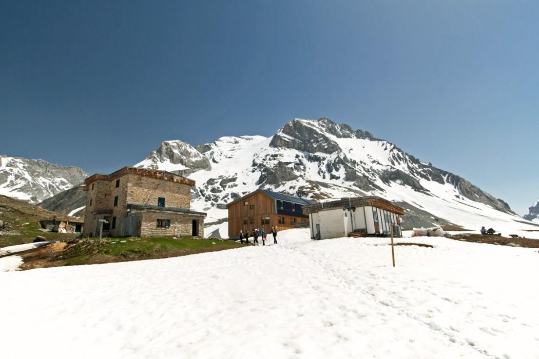 Le Refuge du Col de la Vanoise et la Grande Casse (Parc National de la Vanoise)