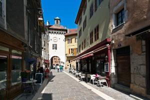 Faubourg Sainte-Claire et Porte Sainte-Claire (Vieille Ville d'Annecy)