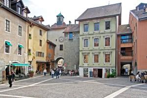 Place Sainte-Claire et Porte Sainte-Claire (Annecy)