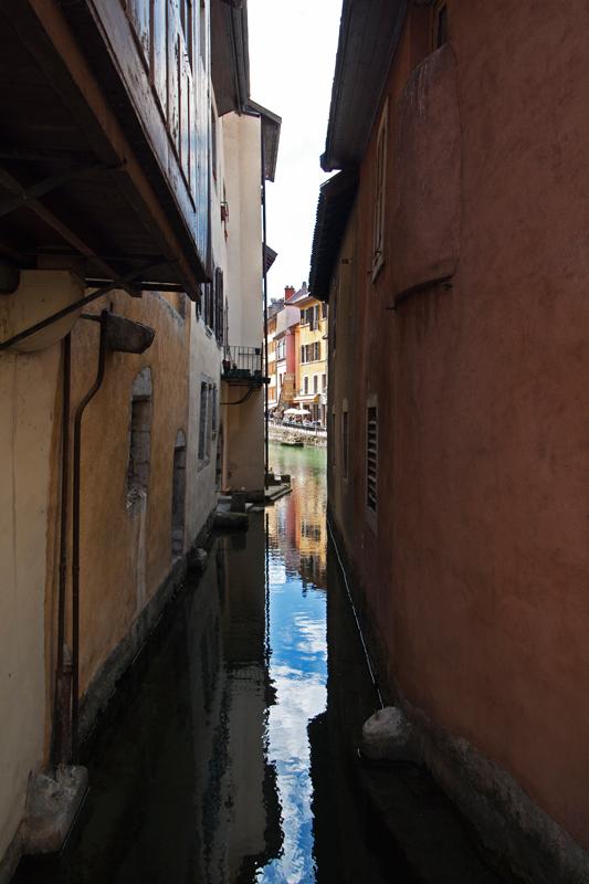 Canal du Palais de l'Isle (Vieille Ville d'Annecy)