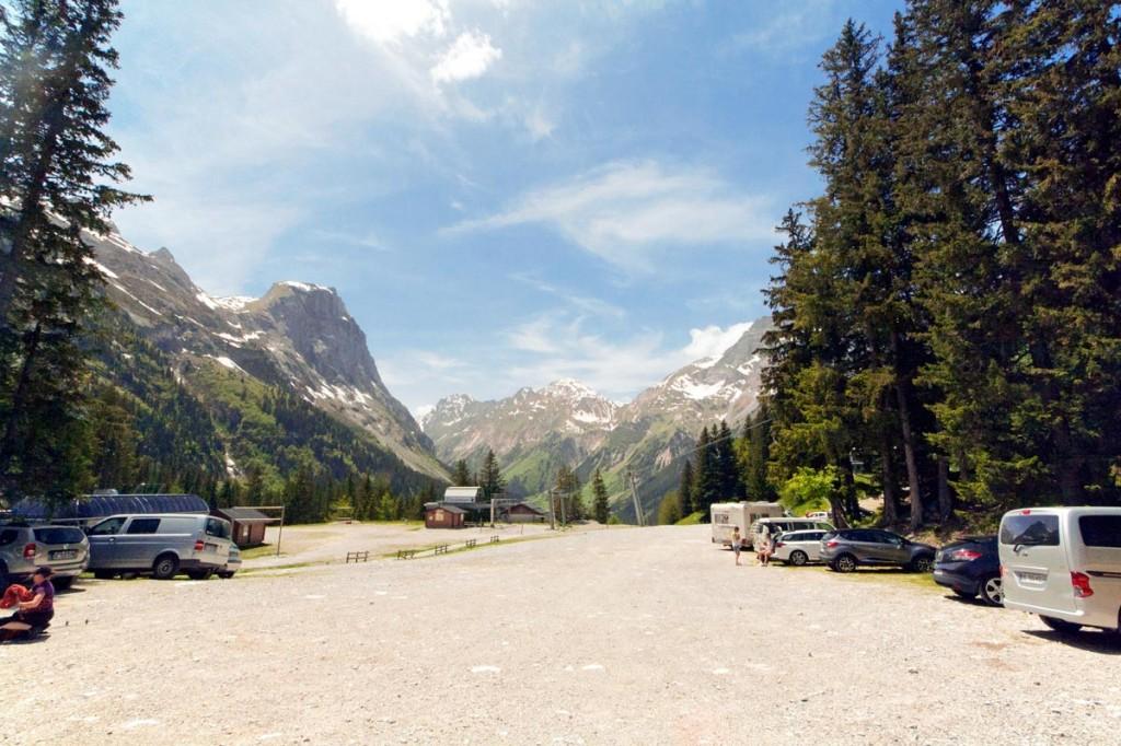 Parking Les Fontanettes à Pralognan-la-Vanoise
