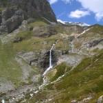 Cascade de la Glière au Parc National de la Vanoise