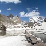 Vanoise : Lac des Vaches, Pointe de la Glière et Grande Casse en fond - édouard photographie © Trace Ta Route