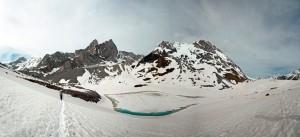 Lac Long, Grande Casse et Pointes de la Glière - Parc de la Vanoise