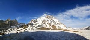 Grande Casse et Pointes de la Glière depuis le Col de la Vanoise