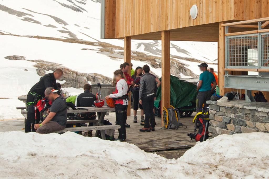 Le Refuge du Col de la Vanoise