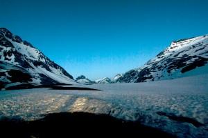 Col de la Vanoise au crépuscule