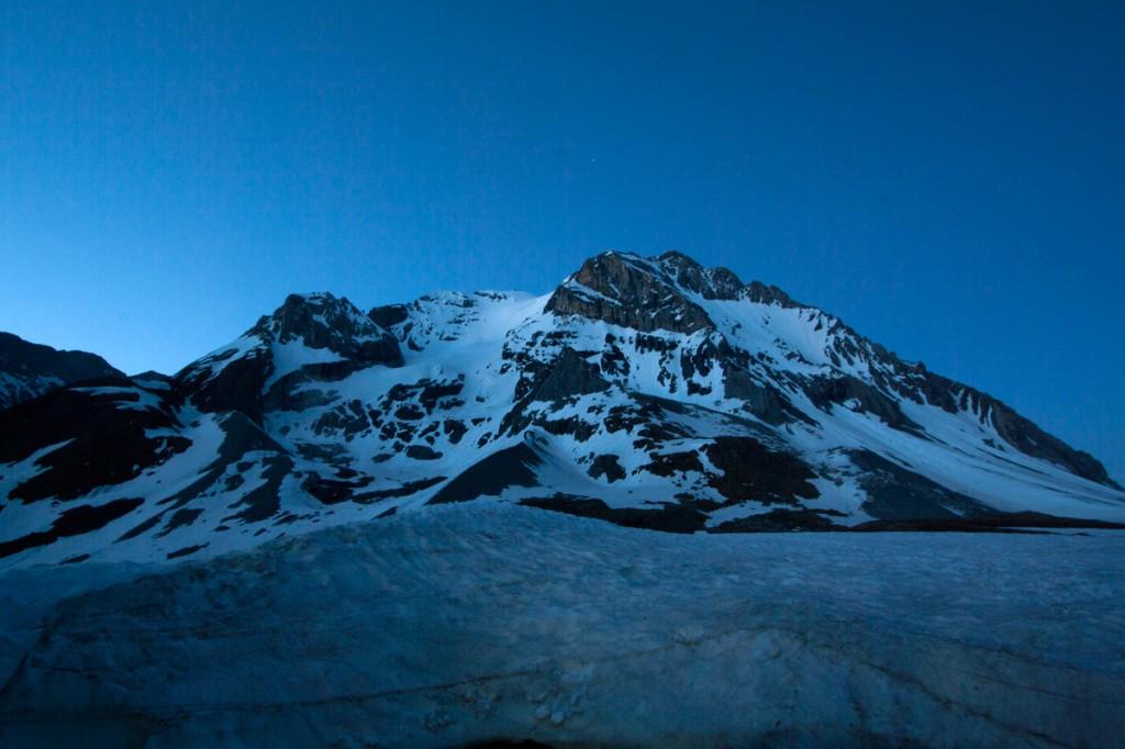 La Grande Casse, au crépuscule (Vanoise)