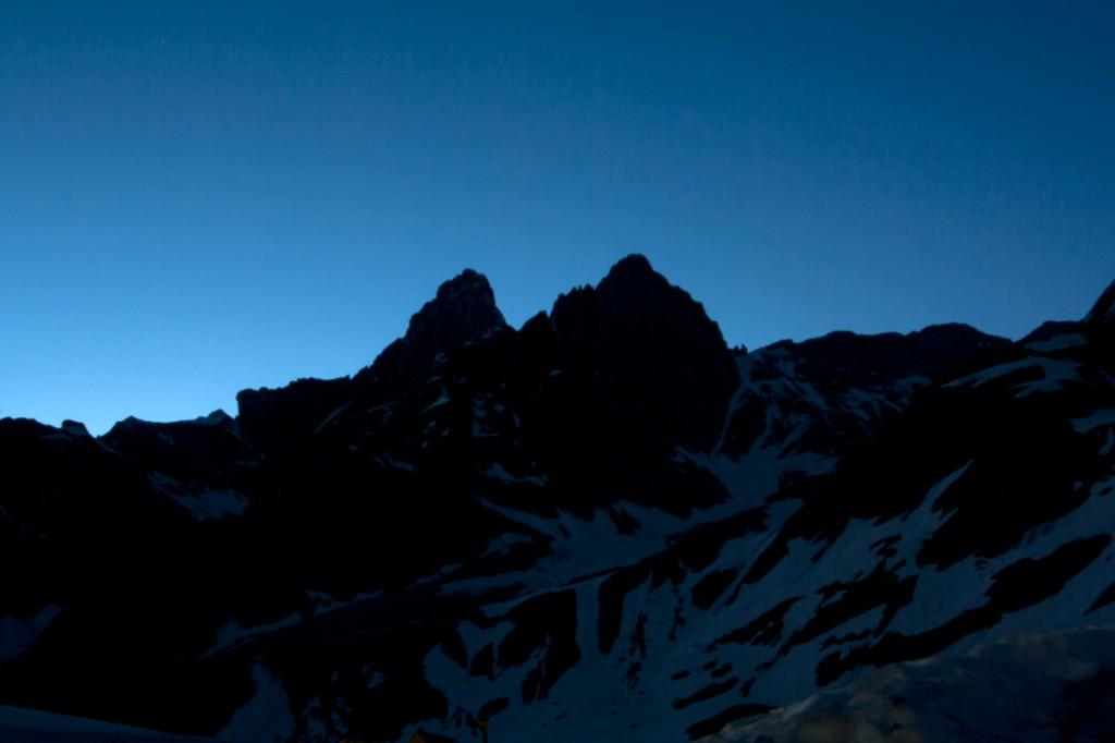 Pointes de la Glière, de nuit (Vanoise) - édouard photographie © Trace Ta Route