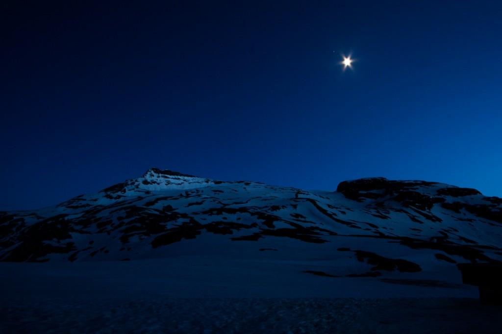 La Pointe de la Réchasse, de nuit (Vanoise) - édouard photographie © Trace Ta Route