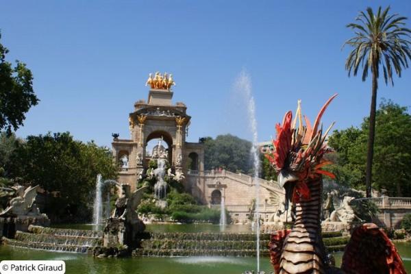 séjour d'une semaine à barcelone, parc ciutadella - blog voyage trace ta route