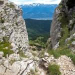 Cheminée de la Brêche Arnaud (Chamechaude - Massif de la Chartreuse)