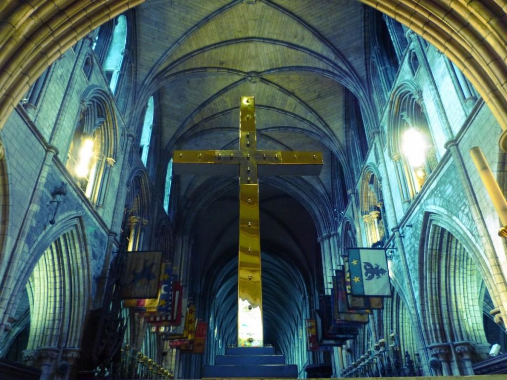 Autel de St Patrick Cathedral Dublin - Blog Voyage Trace Ta Route