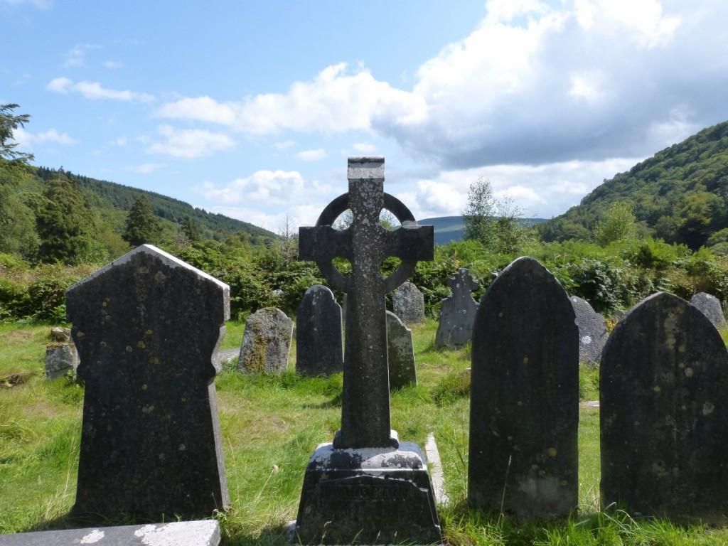 Cimetière celtique à Glendalough - Blog Voyage Trace Ta Route