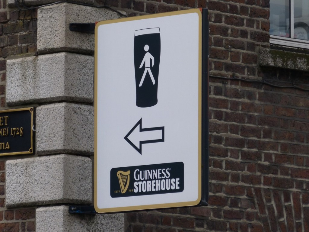 Direction la Guinness Storehouse Dublin - Blog Voyage Trace Ta Route