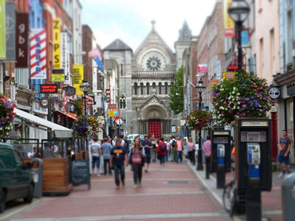 Graffton Street Dublin - Blog Voyage Trace Ta Route