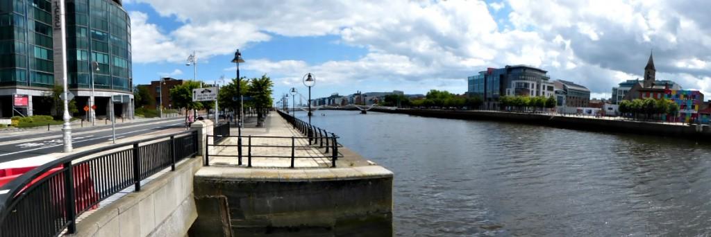 Panorama quais Nord à Dublin - Blog Voyage Trace Ta Route