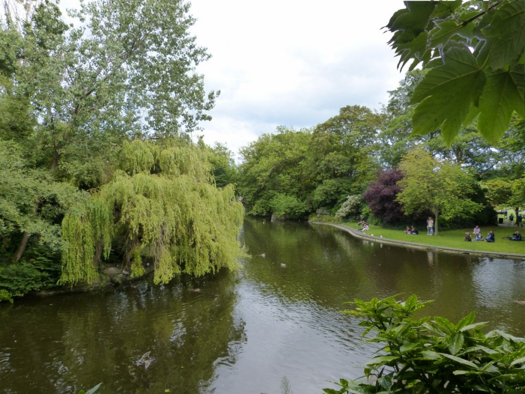 St Stephen Green Dublin - Blog Voyage Trace Ta Route