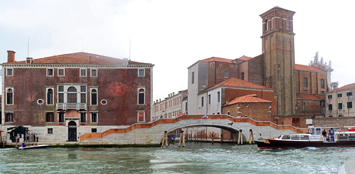Pont sur le Fondamenta Nuove, Venise