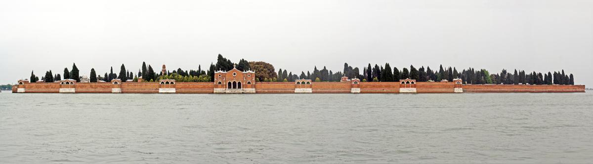 L'île San Michele : le cimetière de Venise