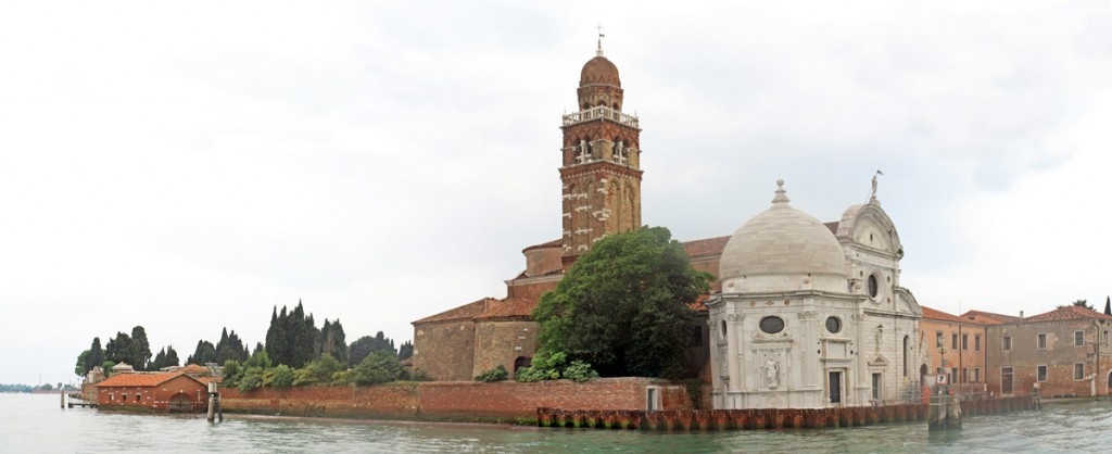 L'église de l'île San Michele, cimetière de Venise