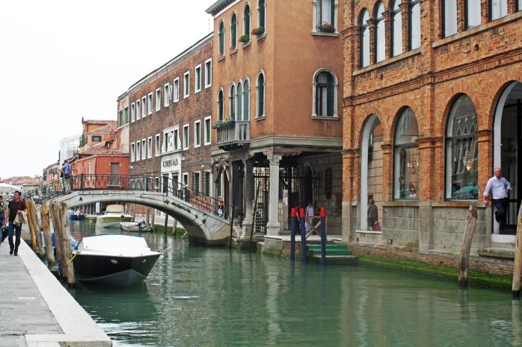 Fondamenta Daniele Manin, canal sur l'île de Murano (Lagune de Venise)
