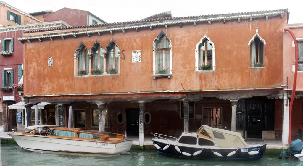 Façade de Murano (Lagune de Venise)