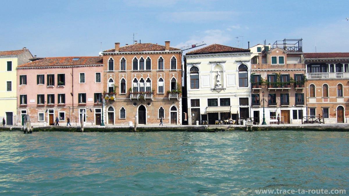 Fondamenta Zattere al Ponte Lungo, Venise