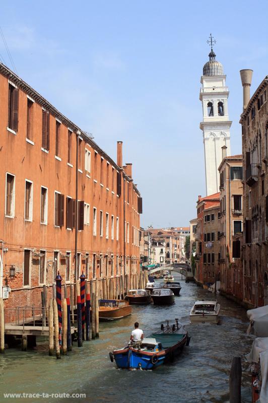 """Canal """"Rio del Greci"""" à Venise"""