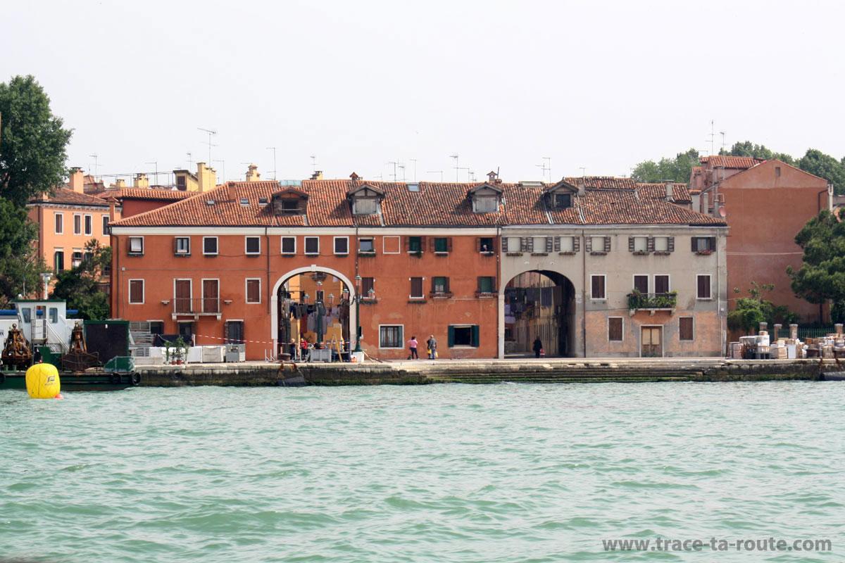 "Riva dei Sette Martiri (""Rive des Sept Martyrs""), Venise"