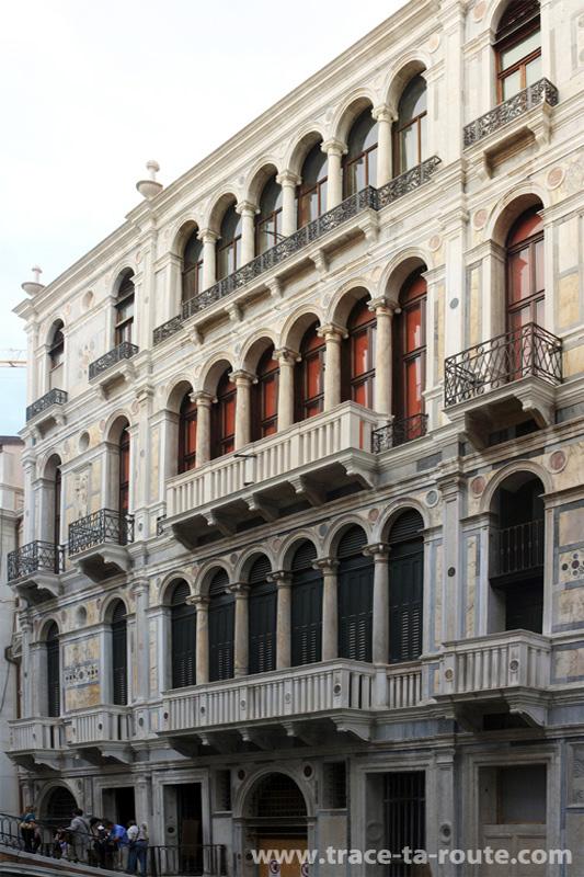 Façade sur le canal Rio di Palazzo o de Canonica, Venise