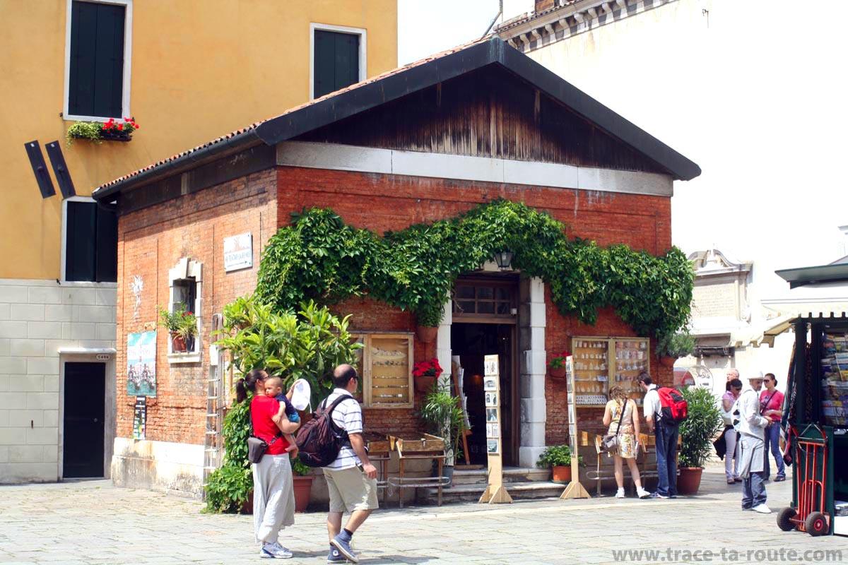 Petite boutique vénitienne