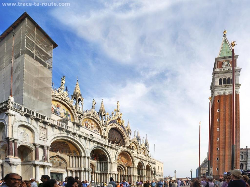 La Basilique Saint Marc et le Campanile, Venise