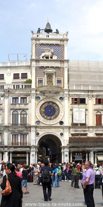 Tour de l'Horloge, place Saint Marc de Venise