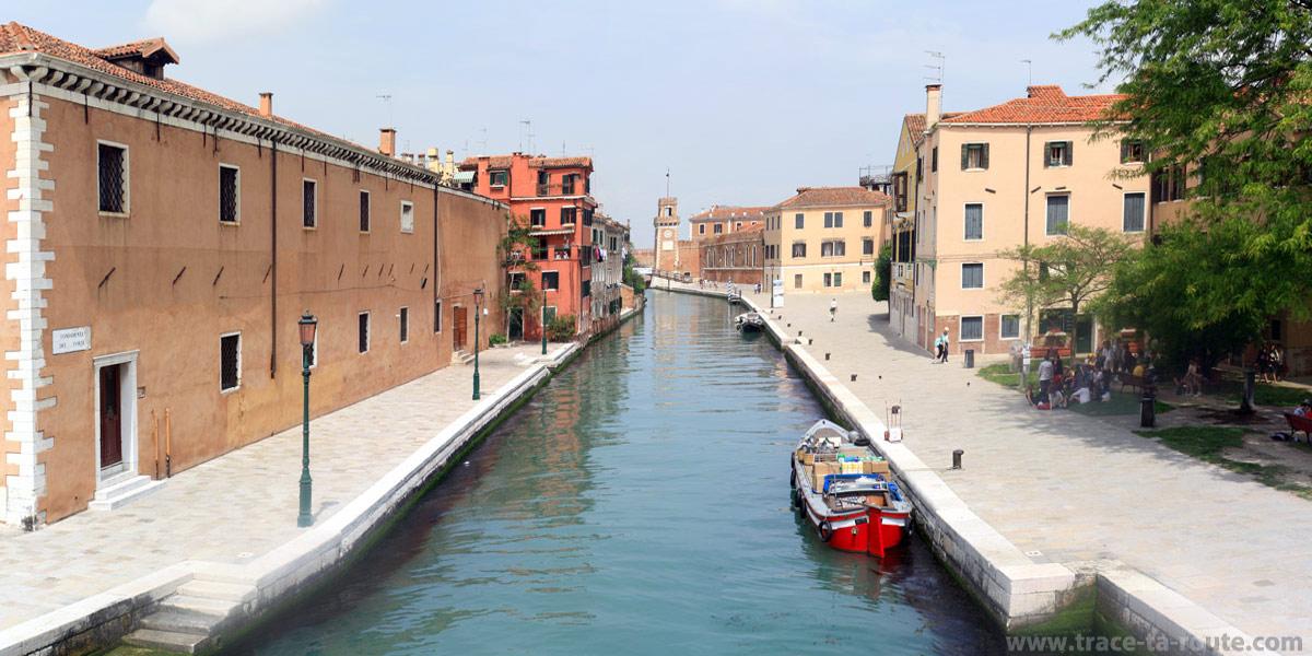 Canal Rio de l'Arsenal, Venise