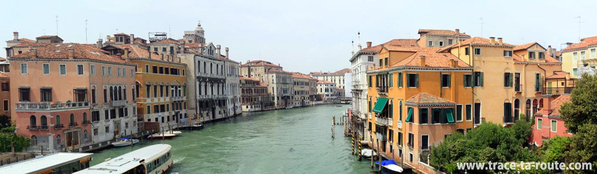 Canal Grande, depuis le Ponte dell'Accademia, Venise