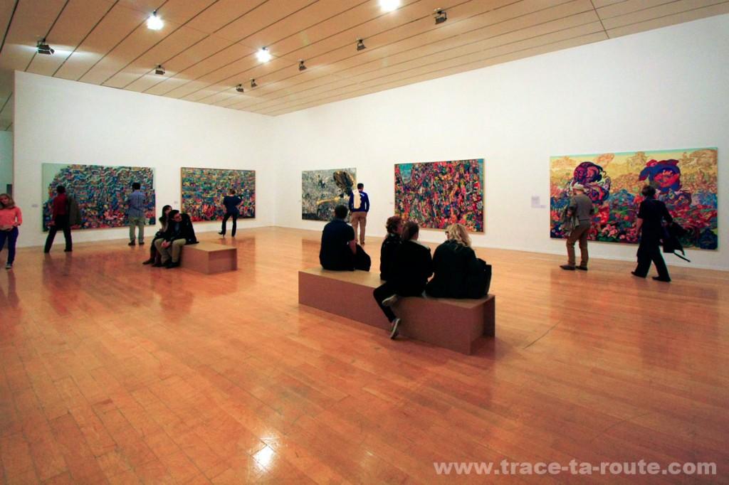 Exposition rétrospective ERRÓ au MAC Lyon (salle 16)