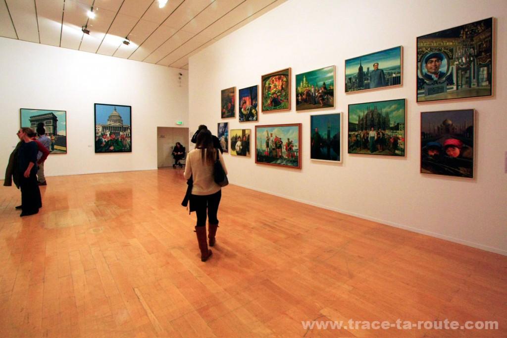 Exposition rétrospective ERRÓ au MAC Lyon (salle 15)