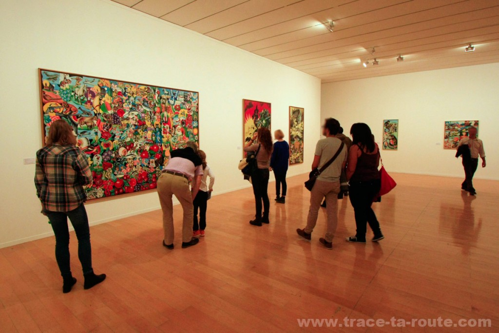 Exposition rétrospective ERRÓ au MAC Lyon (salle 11)