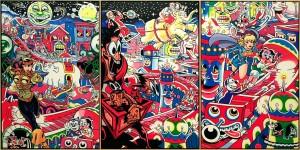 """Le rêve digital"" (2014) série ""New Paintings"" - ERRÓ"