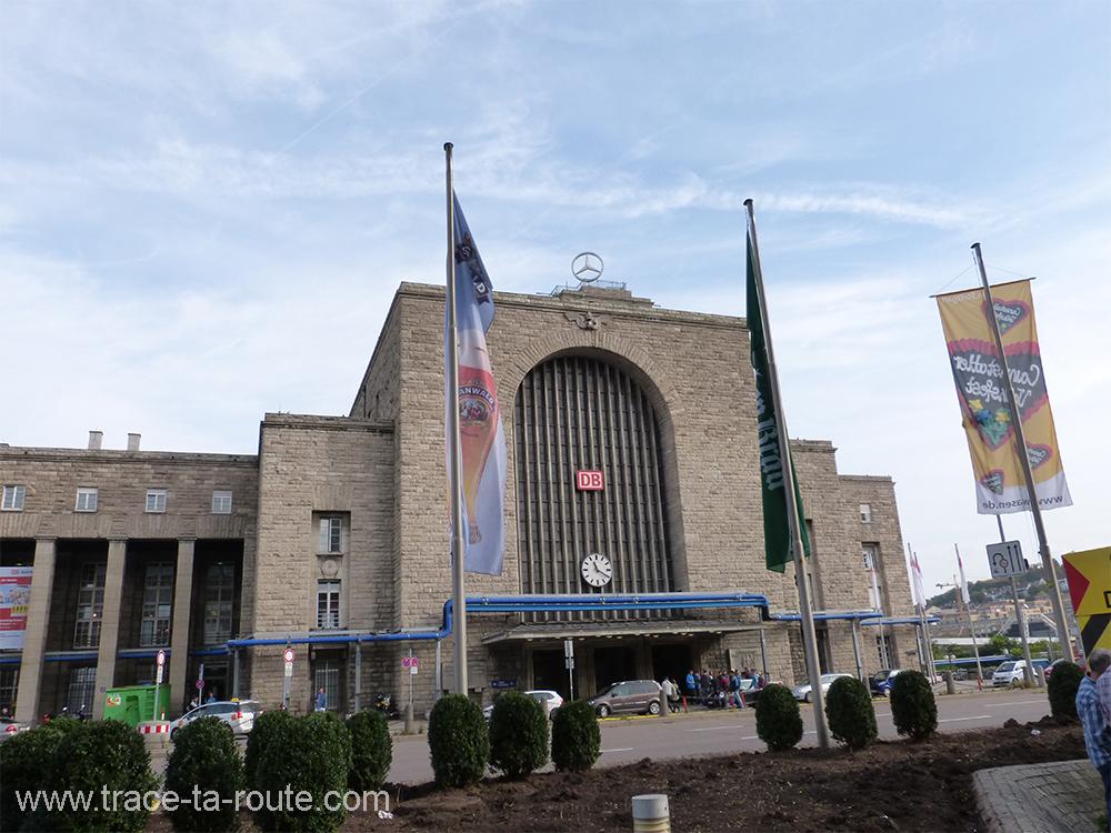 Gare de Stuttgart - Allemagne Deutschland Germany