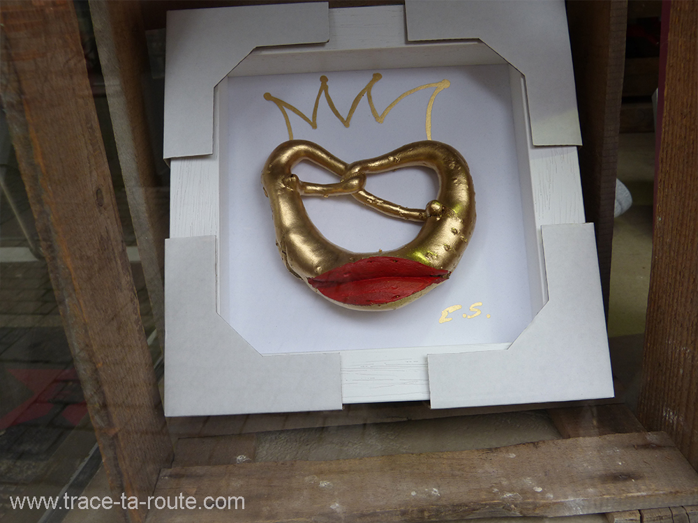 Golden Bretzel Stuttgart - Allemagne Deutschland Germany