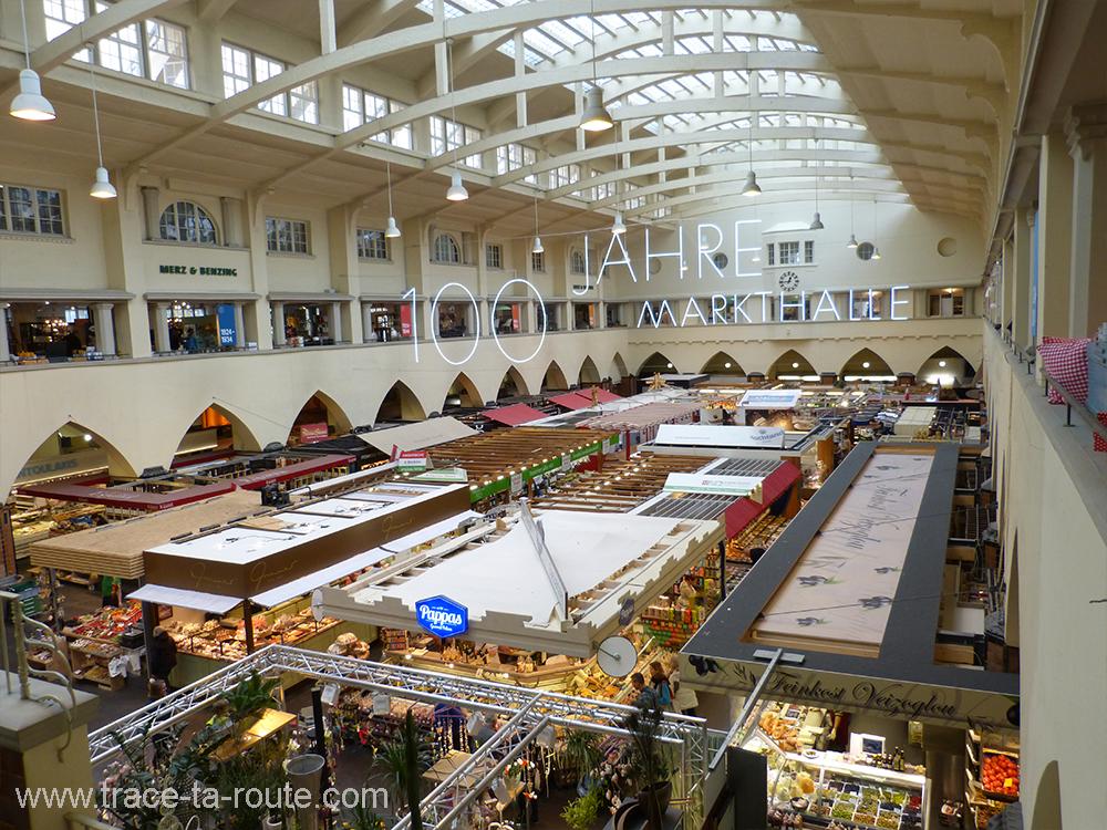 Halles du Marché Markthalle Stuttgart - Allemagne Deutschland Germany