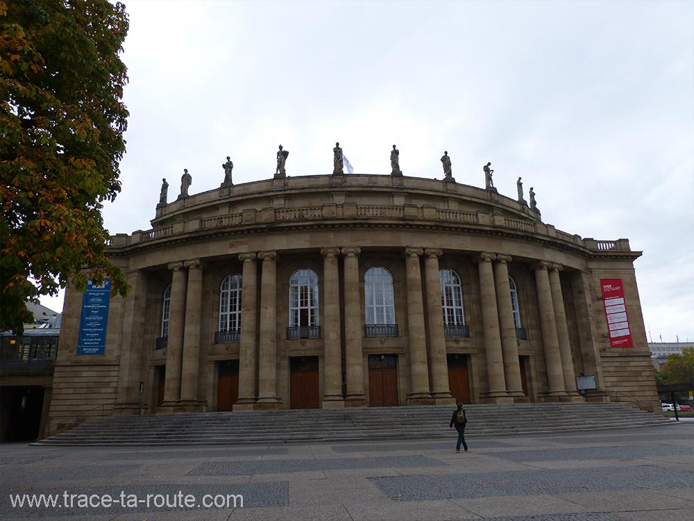 Opera de Stuttgart - Allemagne Deutschland Germany